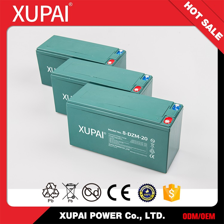 8-DZM-20 16V 20AH Lead Acid E Bike Battery Pack for Electric Bicycle
