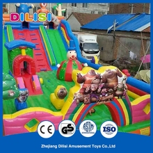 Hot Selling Outdoor Giant Safe Children Inflatable Bouncer with Slide