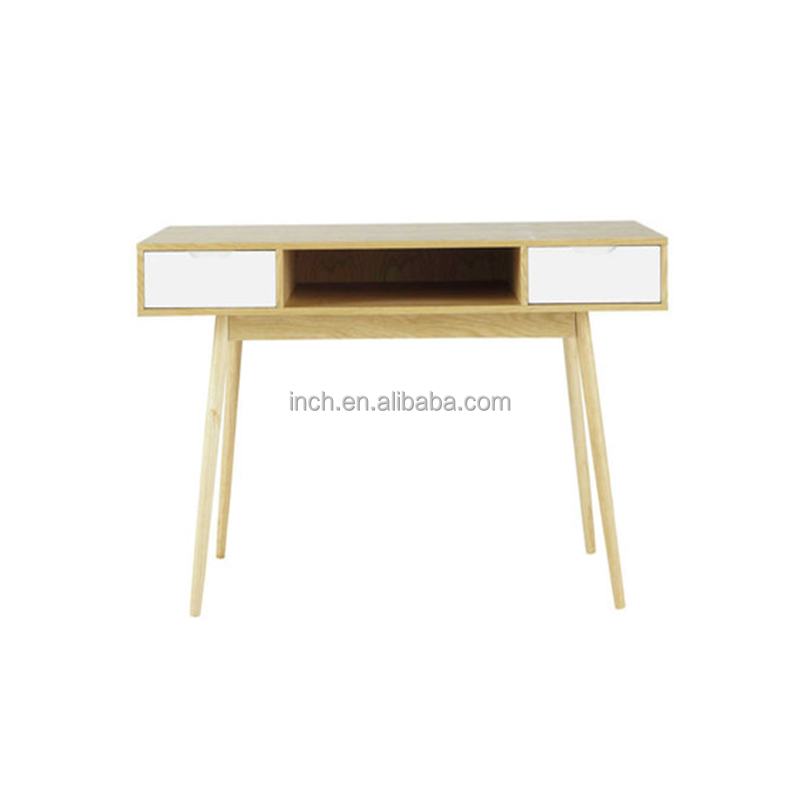 Scandinavian style home use modern secretaire kids study desk