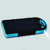 4000mah dual ports solar cellphone charger