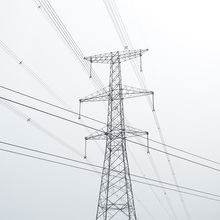 60 Degree Angle Steel Tower 220kv Power Transmission Tower