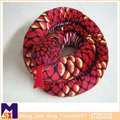 lifelike scary red Snake plush halloween tricky gift soft snakes stuffed toys