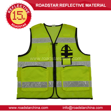 LOW MOQ SAFETY REFLECTIVE VEST FOR BUILDING WORKER