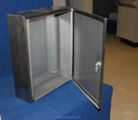 outdoor metal cabinet/enclosure/wall mount box stainless steel waterproof