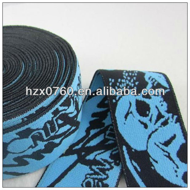 Coated wholesale satin elastic ribbon for leather bag