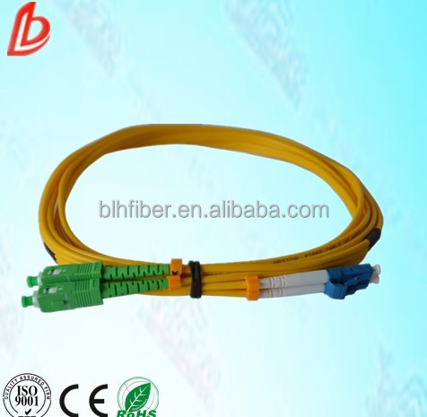 LC/SC duplex SM fiber optic patch cords,singlemode fiber optic jumper