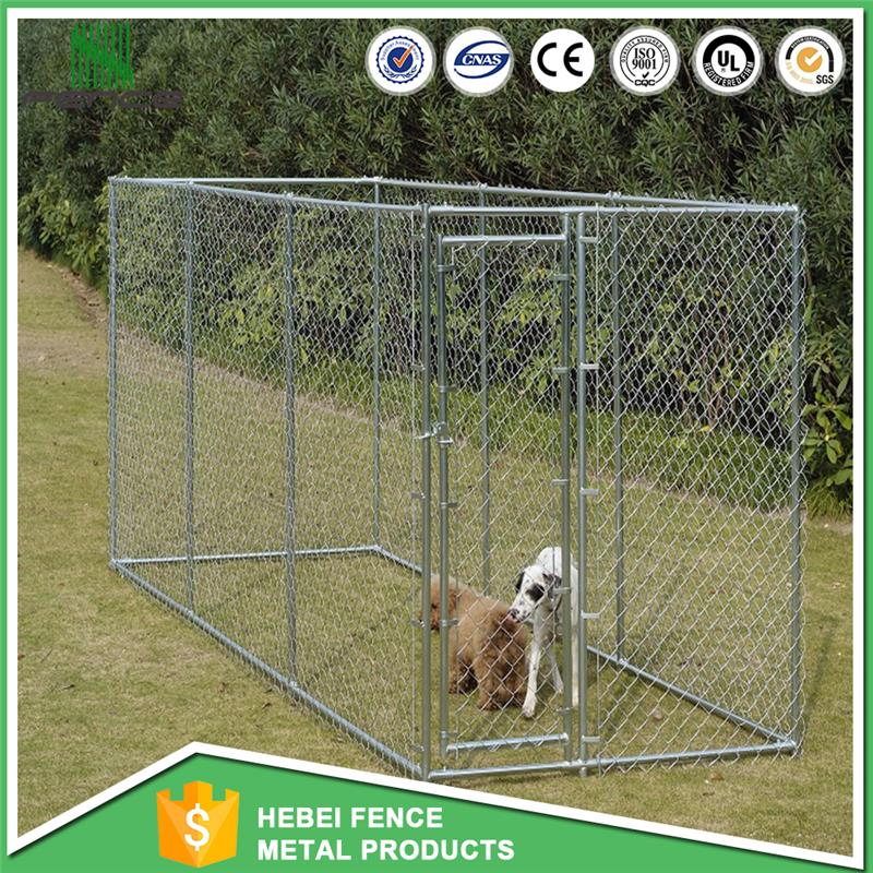 New design galvanized steel pet house heavy duty dog kennel