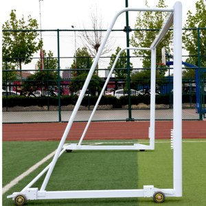 Aluminium portable folding soccer goal posts for sale