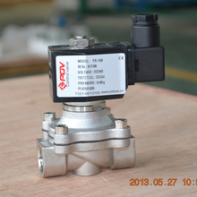 low price 2 inch 24v direct acting normally closed solenoid valve