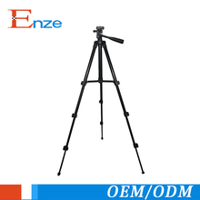 Wholesale led light stand aluminum 4-section video tripod stand for camera
