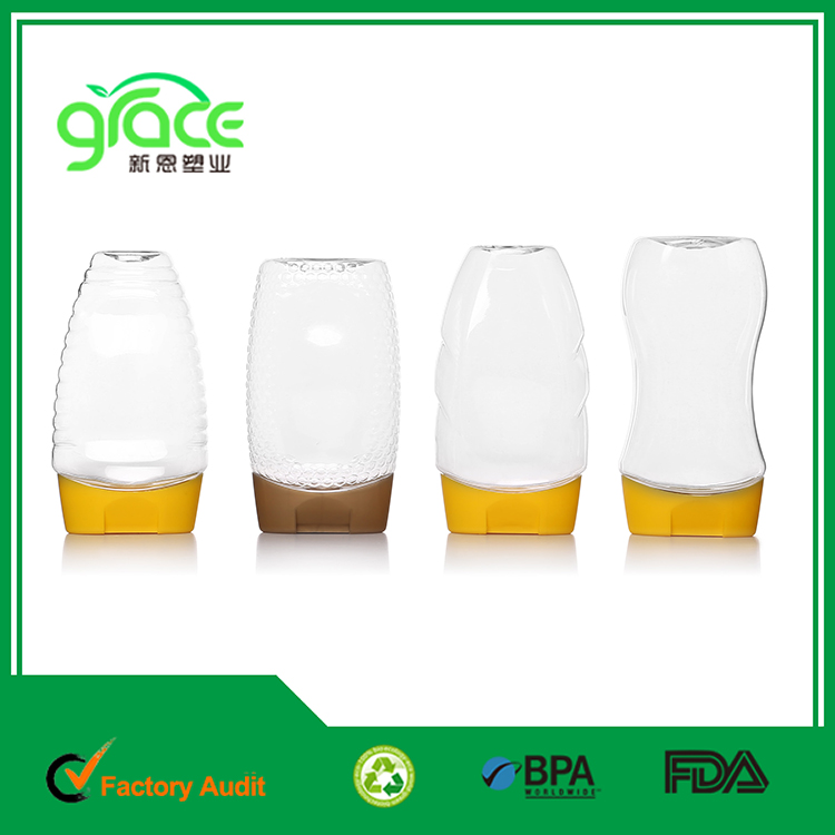 upside down lid /flip top lid silicone valve cap for honey jam chili plastic sauce bottle ,plastic squeeze bottle packaging