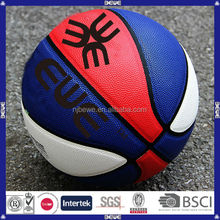 2014 new wholesale low price customized mini rubber basketball