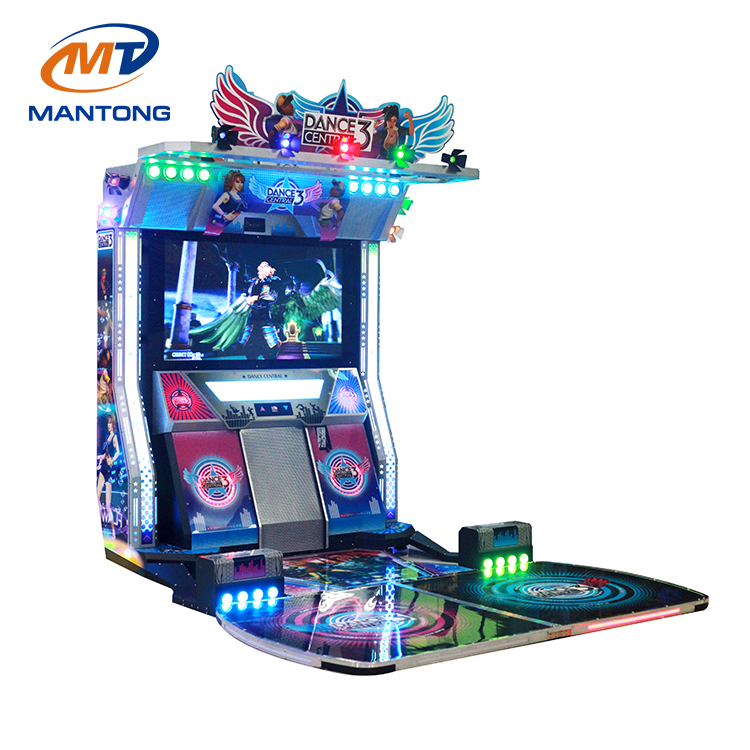 Mantong coin operated dancing machine music machine dance central 3 for sale
