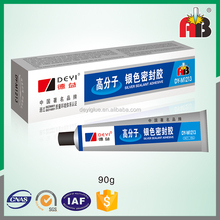 Factory directly provide high temperature silver silicone rtv gasket sealant for industrial machinery