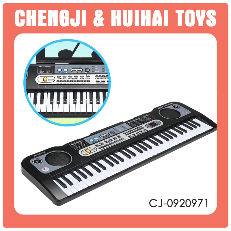 High quality 61 key preschool musical toys electronic keyboard price