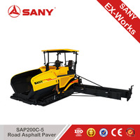 Sany SAP200C-5 Asphalt Paver With Continuous Uninterrupted Performance