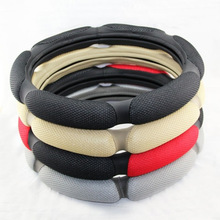Xianjian Sandwich 3D breathable Viscose Steering Wheel Cover - Odorless, Cooler Hands In Summer, Warmer Hands In Winter