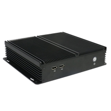 Small size Fanless industrial mini PC 12V Power with WiFi and HD