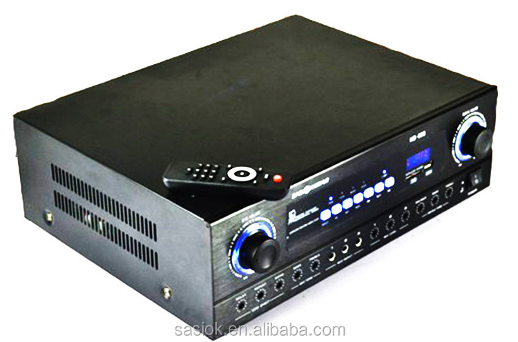 5.1 Channel Large power audio amplifier with Remove control