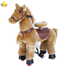 Funtoys CE rocking power wheels horse carriage toy pony for adults
