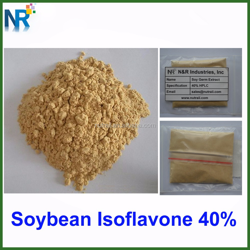 Food grade soy isoflavone 40%/ soy isoflavone