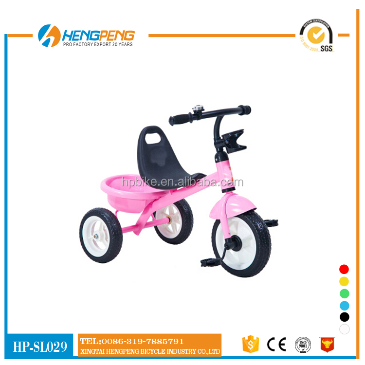 2015 Fashion children Tricycle/kids training bike/riding toy from china manufacture