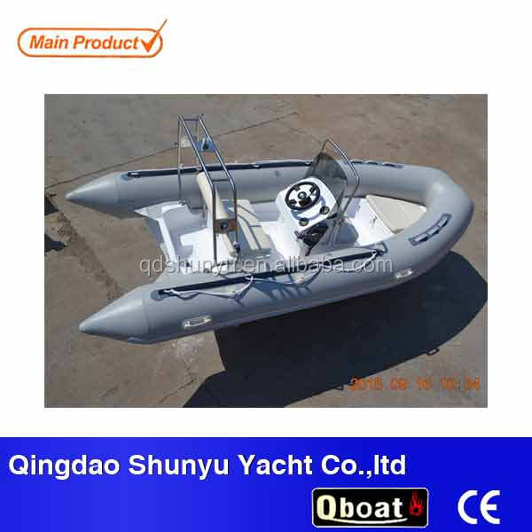 CE Rigid Hull Inflatable Boat Zodiac Brand 40HP Engine 8Persons