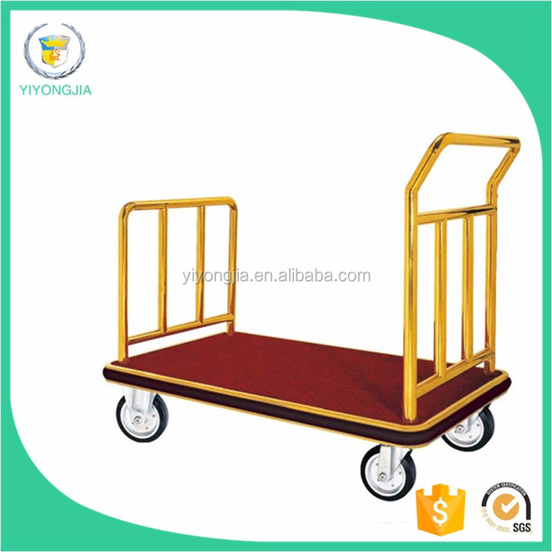 Bellman Cart/luggage Trolley For Hotels/used Hotel Luggage Carts ...