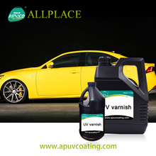 Price of Uv Varnish Light-Cured Car Paint Glass Coating for Car Body