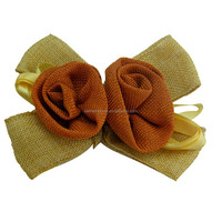 New hot selling gold holographic ribbon bows