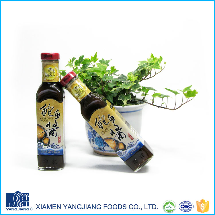 Hot selling factory price delicious organic condiments abalone sauce