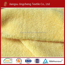 China Wholesale toy fabric Coral Fleece Fabric Dyed 100 polyester knit fabric JC04142