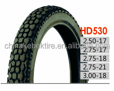 China Motorcycle Tire and Tube factory Hot sell size 2.50-17 2.50-18