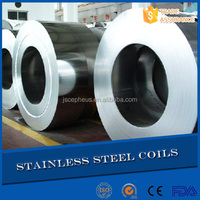 cold rolled 304 304l HL 2B mirror finish structure building stainless steel coils