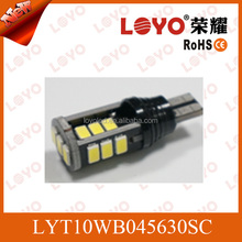 CE&ROHS SMD car reversing light beauty T15 led smd car lights