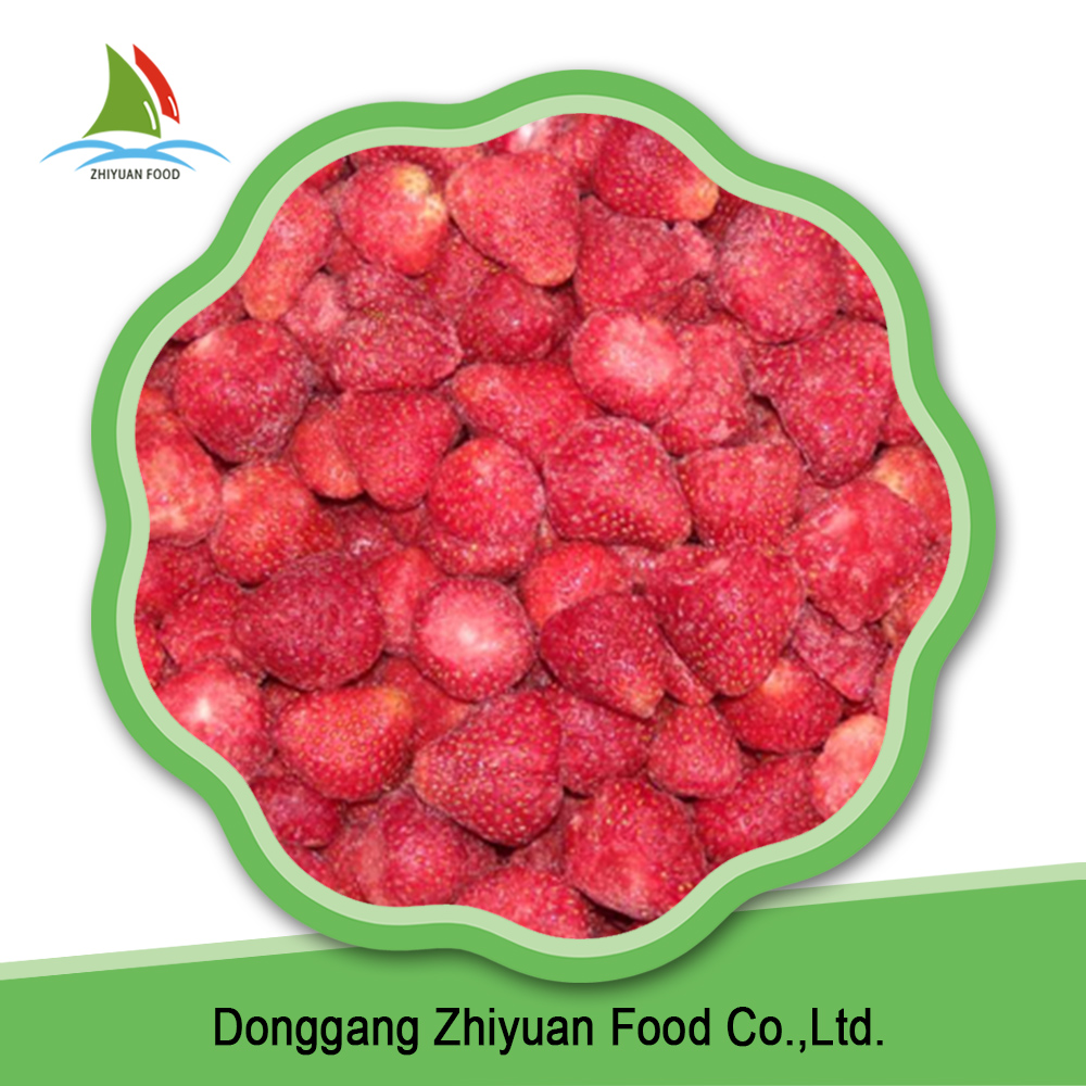 2016 new season frozen fruit organic iqf strawberry in bulk
