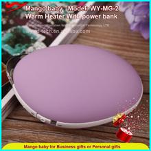 Mango shape 18650 Battery Charger Electronics multifunction Power Bank 3500Mah with hand warmer function
