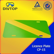 Diving Promotion Product Licence Plate For Diver's Car