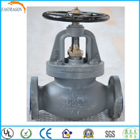 Marine JIS F7353 5K50 Cast Iron Screw Down Check Globe Valve