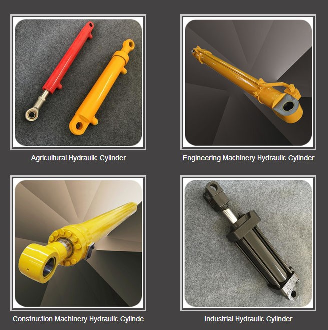 Excavator Hydraulic Cylinder Used For Machinery and Vehicle