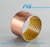 Textile DX Bearing Bush PCM353930M SF-2Y Composite Sleeve Bearing POM Material Bronze Bush China Supplier