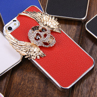 devil wings personalised phone case protection cover for iphone 5