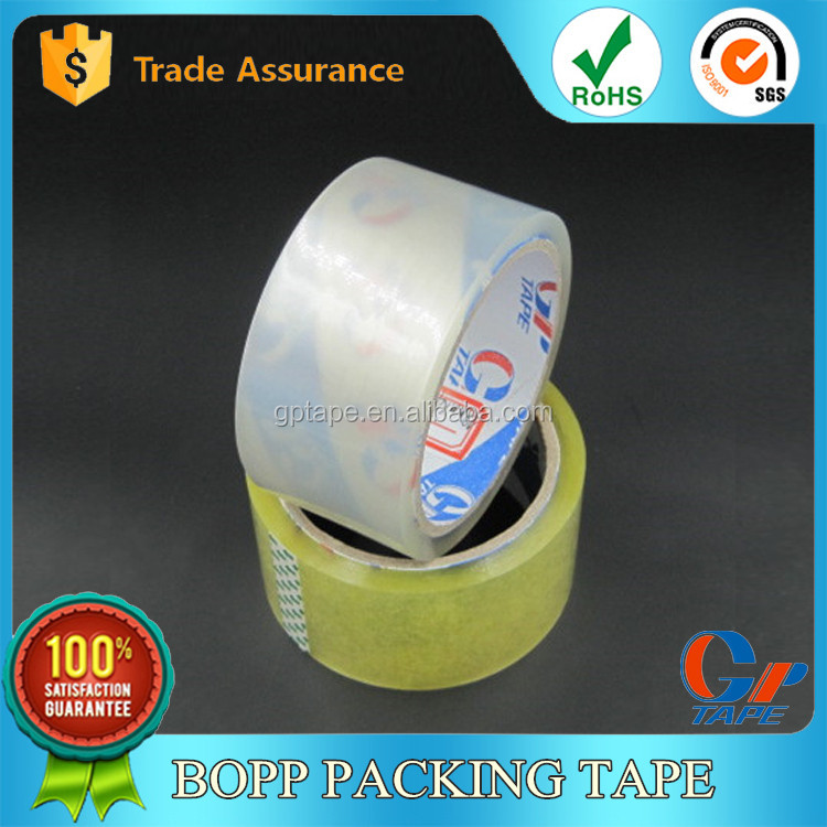 High Quality Opp Adhesive Double Sided Carbon Tape For Carton Sealing Use