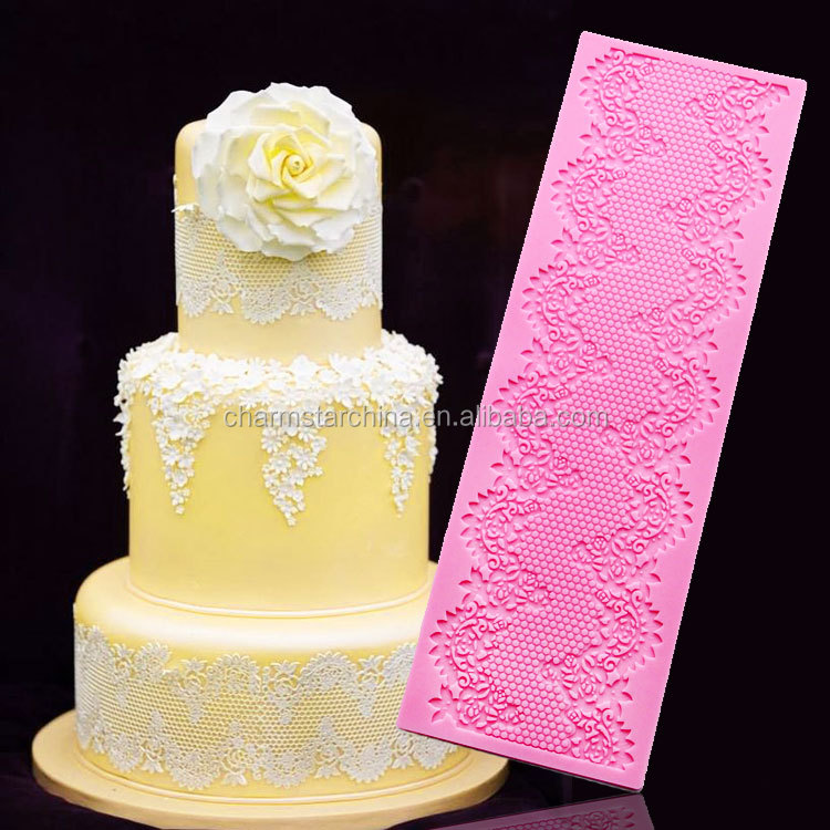 Cake decoration Cake lace Silicone cake lace mold