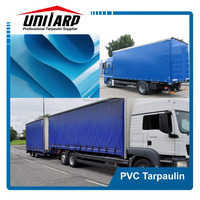 19oz Anti-milde pvc truck cover, pvc strong fabric, pvc coated container side curtains