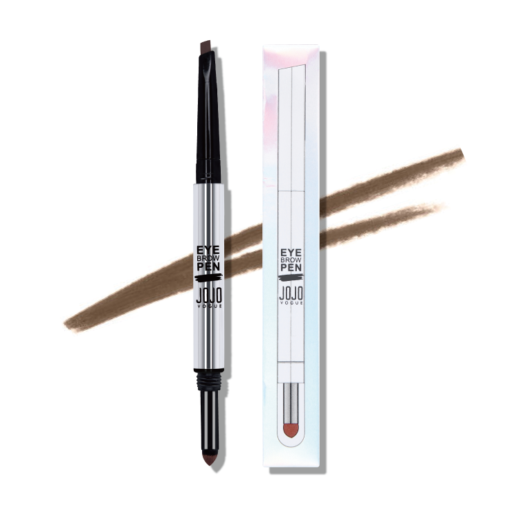 New product wholesales 2 in1double-effect eyebrow pencil and eyebrow cream