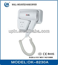 safety assured a socket (OK-8230A) Hair dryer excellent in quality and superior in workman ship
