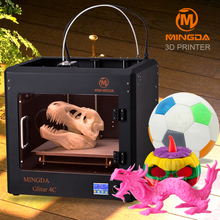 best selling MINGDA Glitar 4C desktop 3d printer electronics, 3d printer in china, names of printing machines