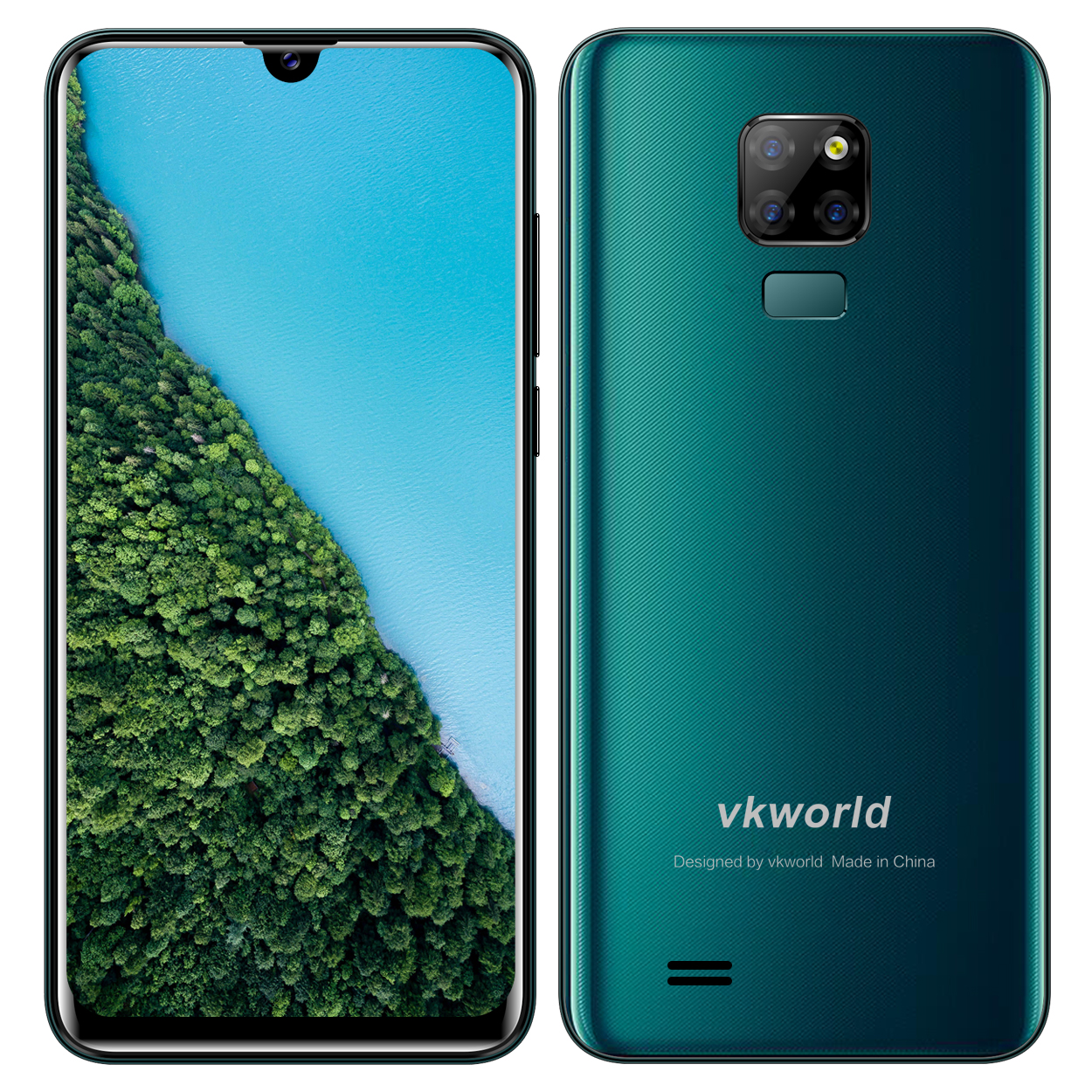 Green OEM/ODM Mobile Phones VKWORLD SD200 customized cellphone 6.3 inch phone 3GB RAM+32GB ROM Dual SIM Handphone