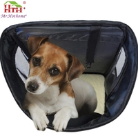 For Amazon and eBay stores Pet Dog Cat Carrier Airline Approved foldable soft pet carrier